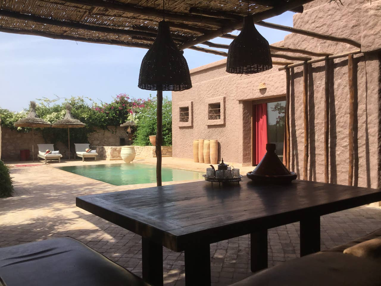 Airbnbs in Morocco with Pool