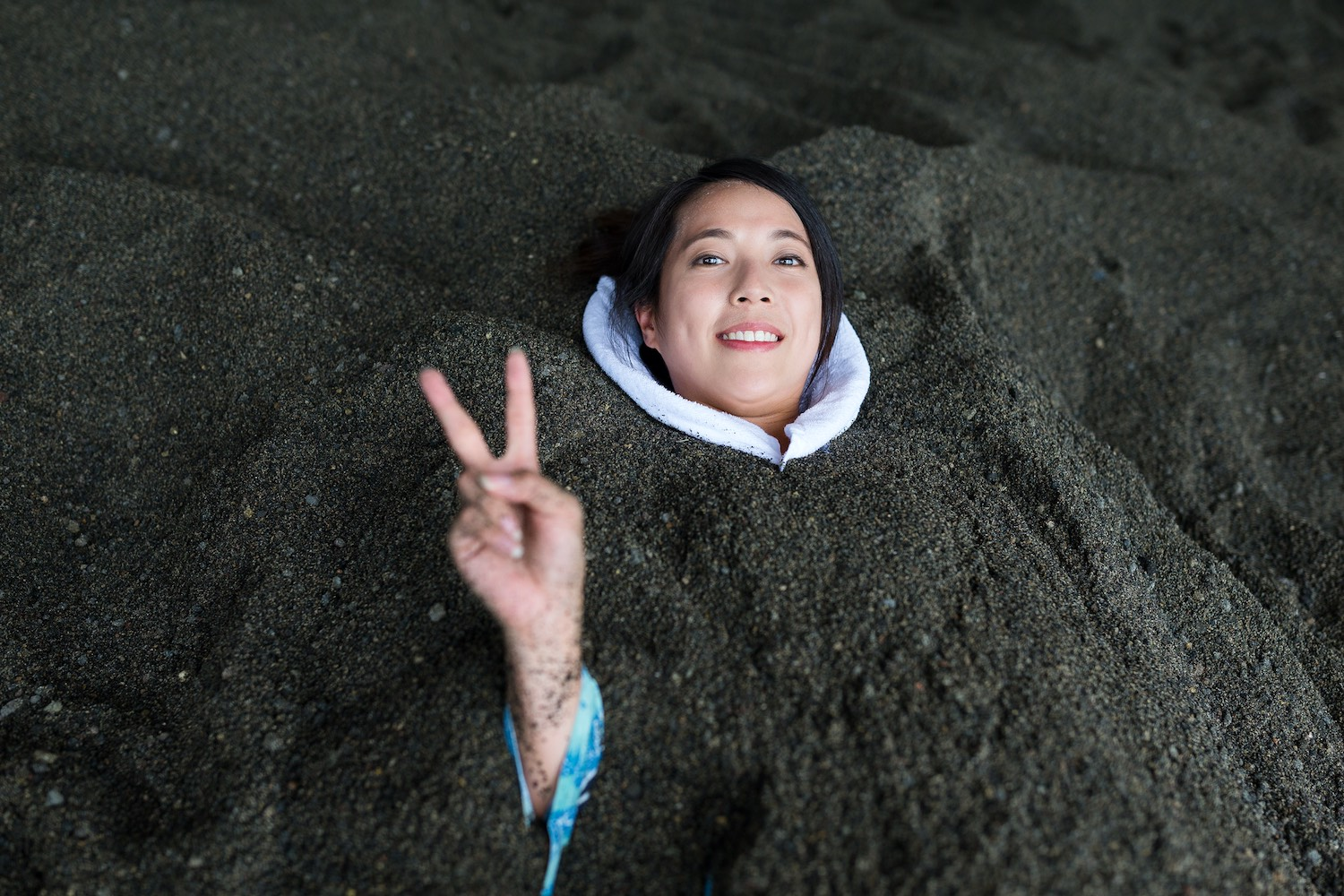 Beppu City sand bath - things to do in oita