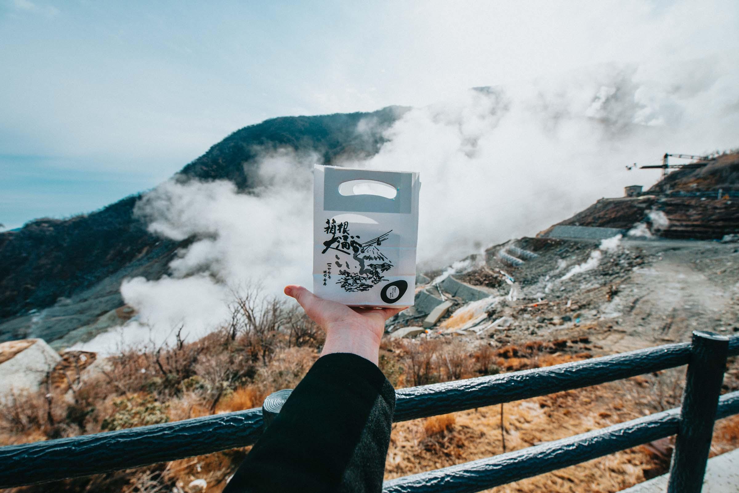 Black Egg - Hakone, Japan - Owakudani Valley