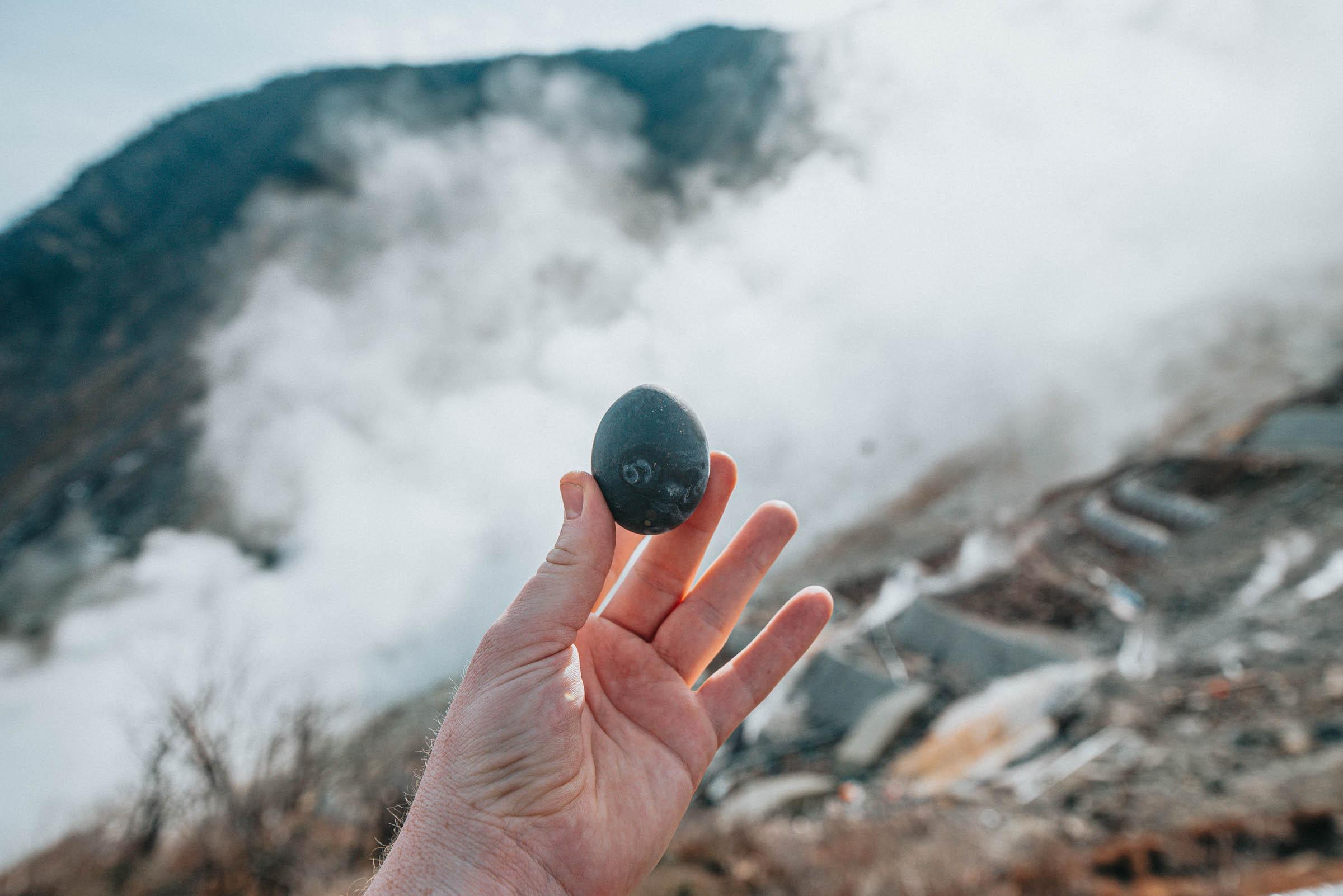 Black Egg, Owakudani Valley, Hakone, Japan