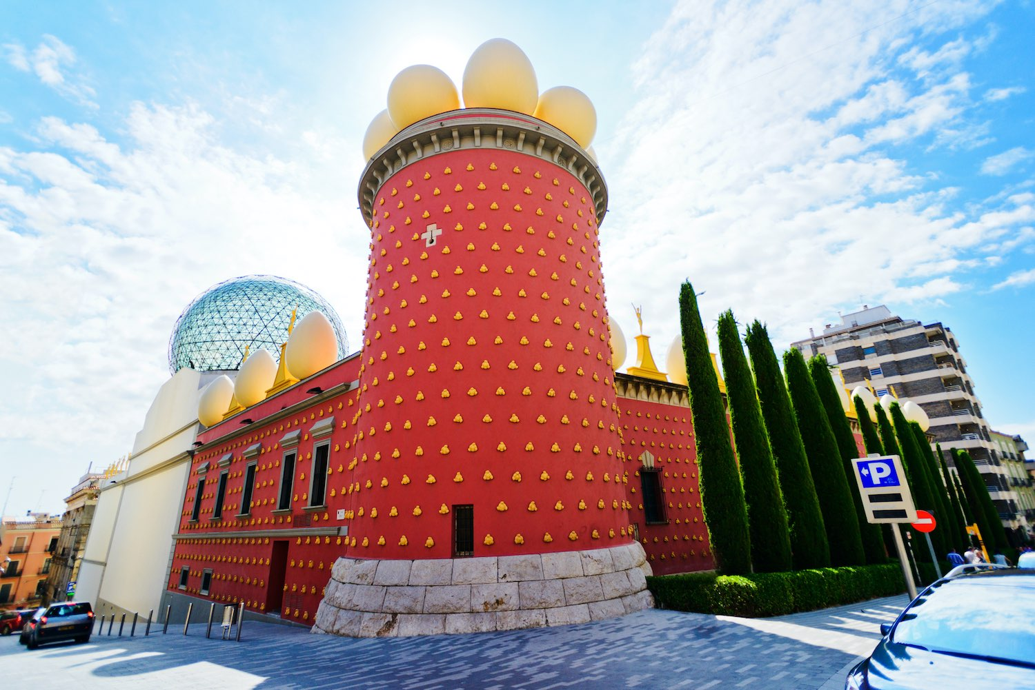 Salvador Dali museum in Figueras, Spain - Day Trip from Barcelona