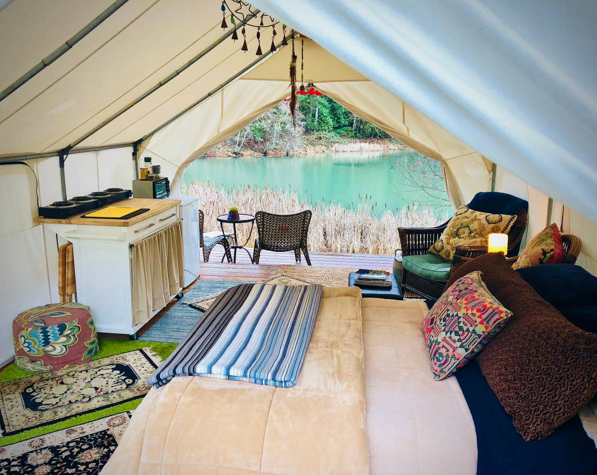 Glamping Bend Oregon