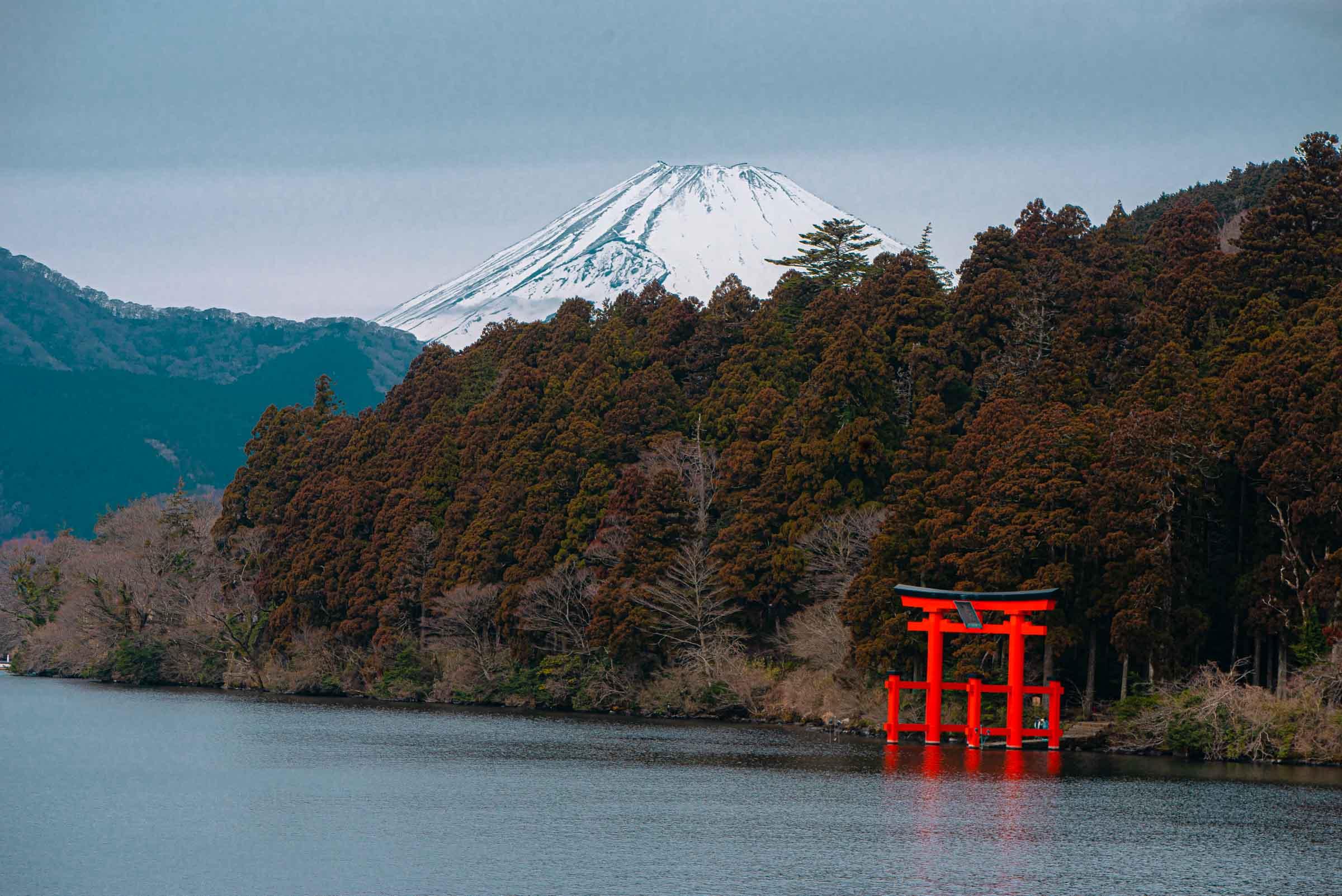 Hakone Cruise - Lake Ashi