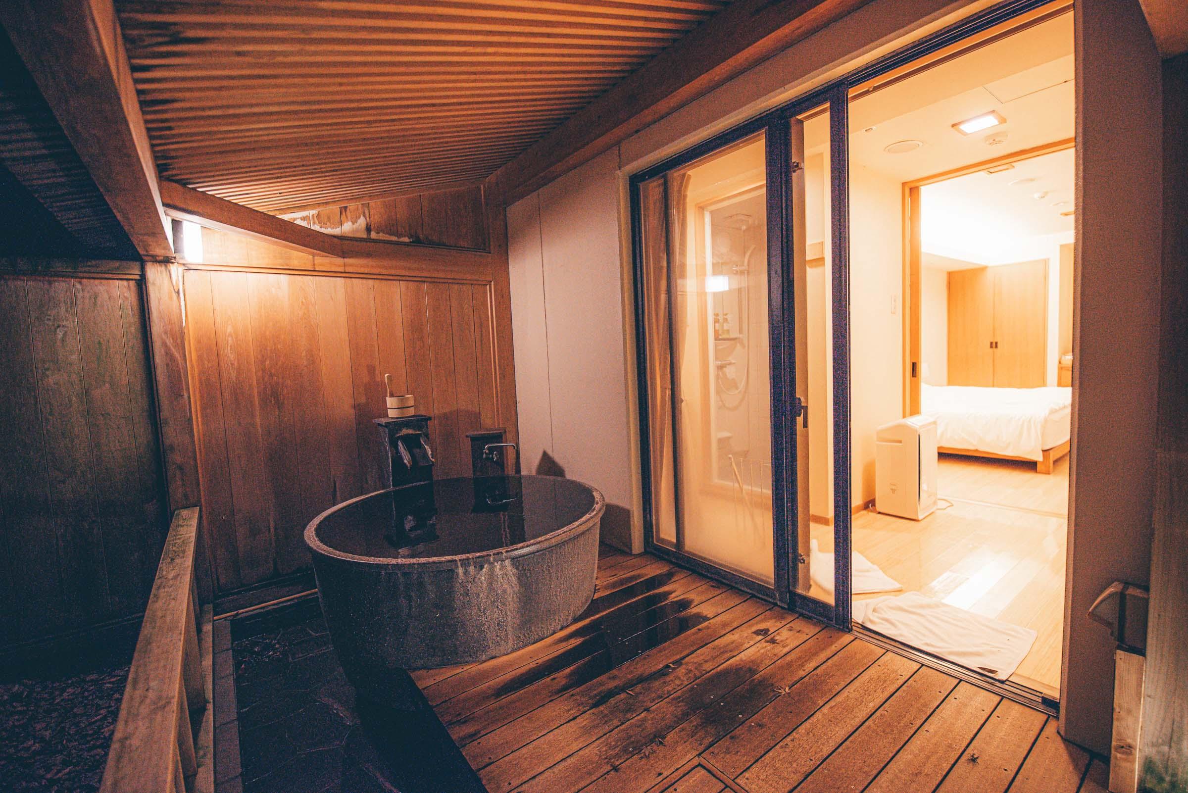 Hakone, Japan - Hotel Hatsuhana