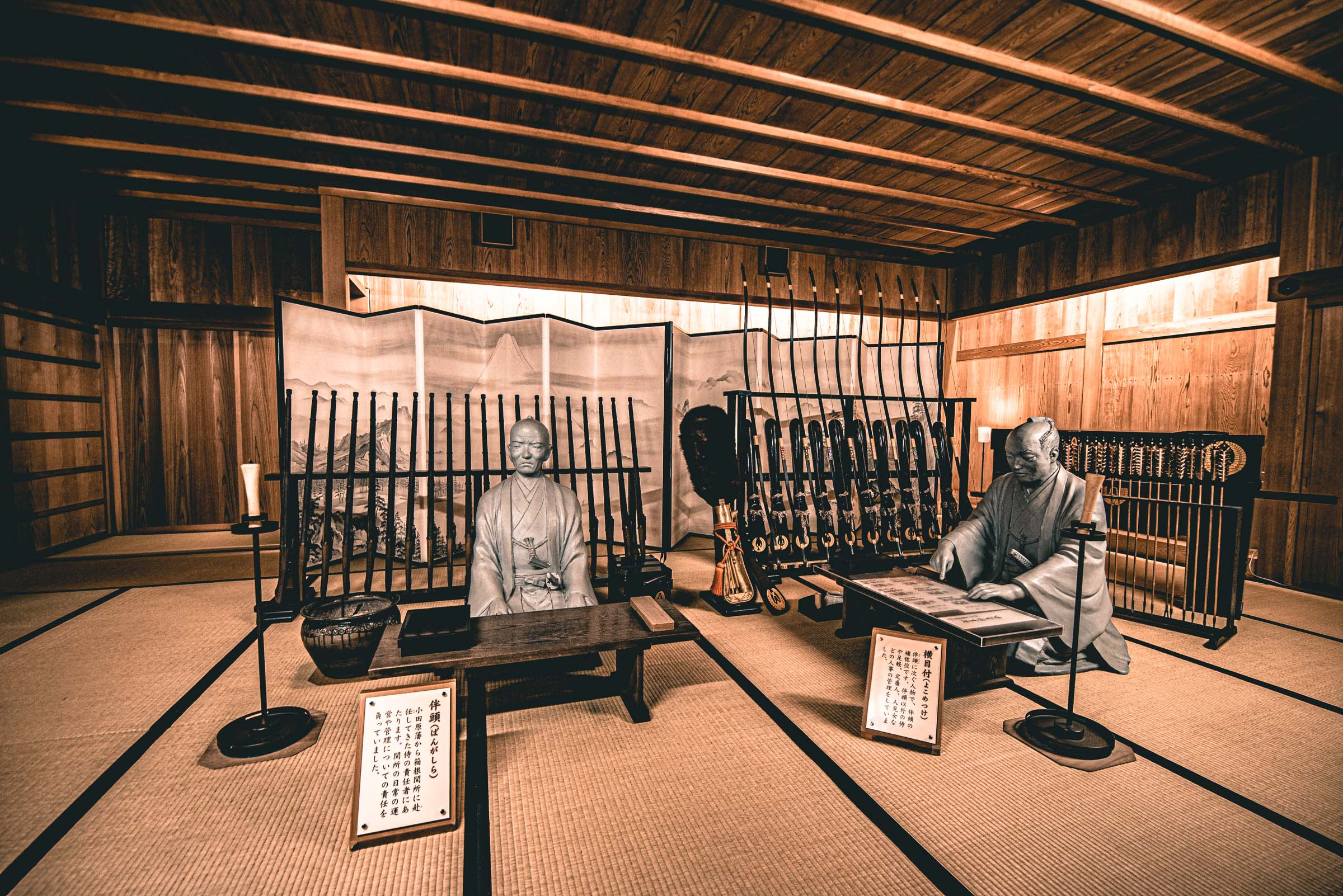 Hakone Sekisho Checkpoint- things to do in hakone, japan