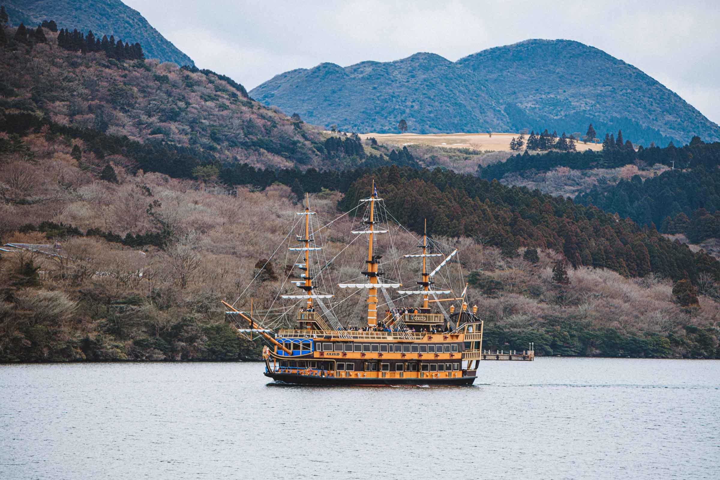 Hakone Sightseeing Cruise - Hakone, Japan