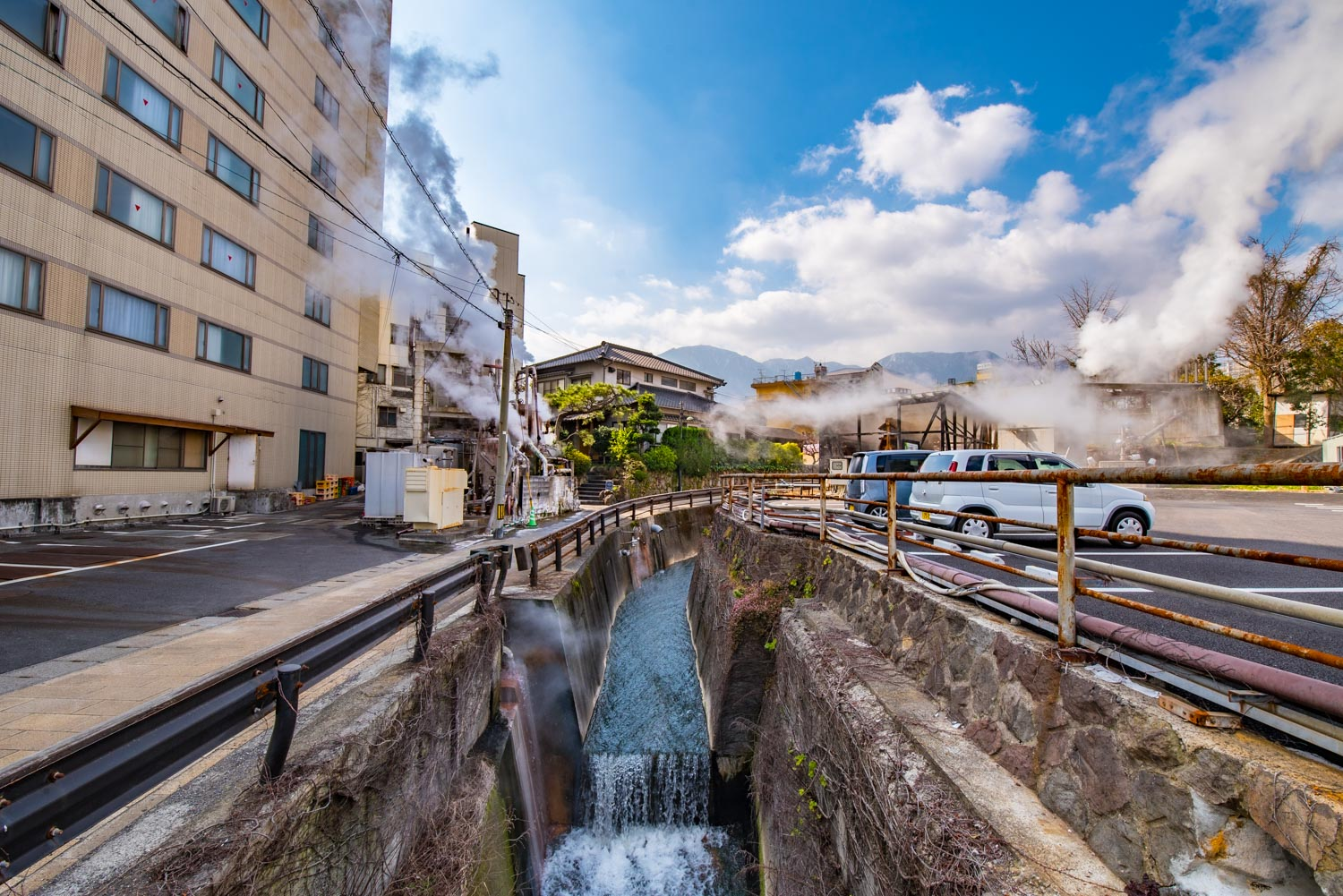 Kannawa District, Beppu City, Oita