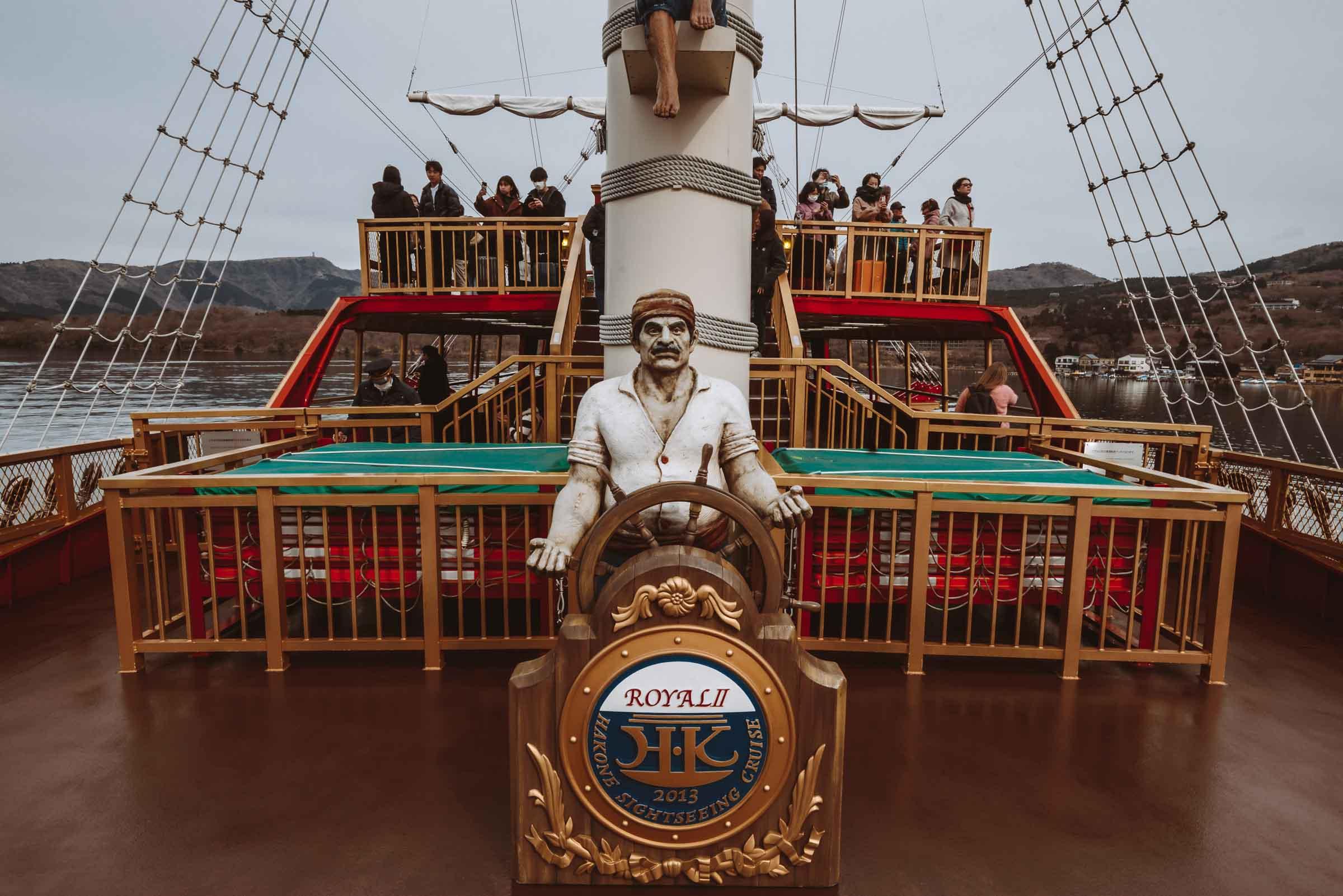 Lake Ashi Sightseeing cruise Ship