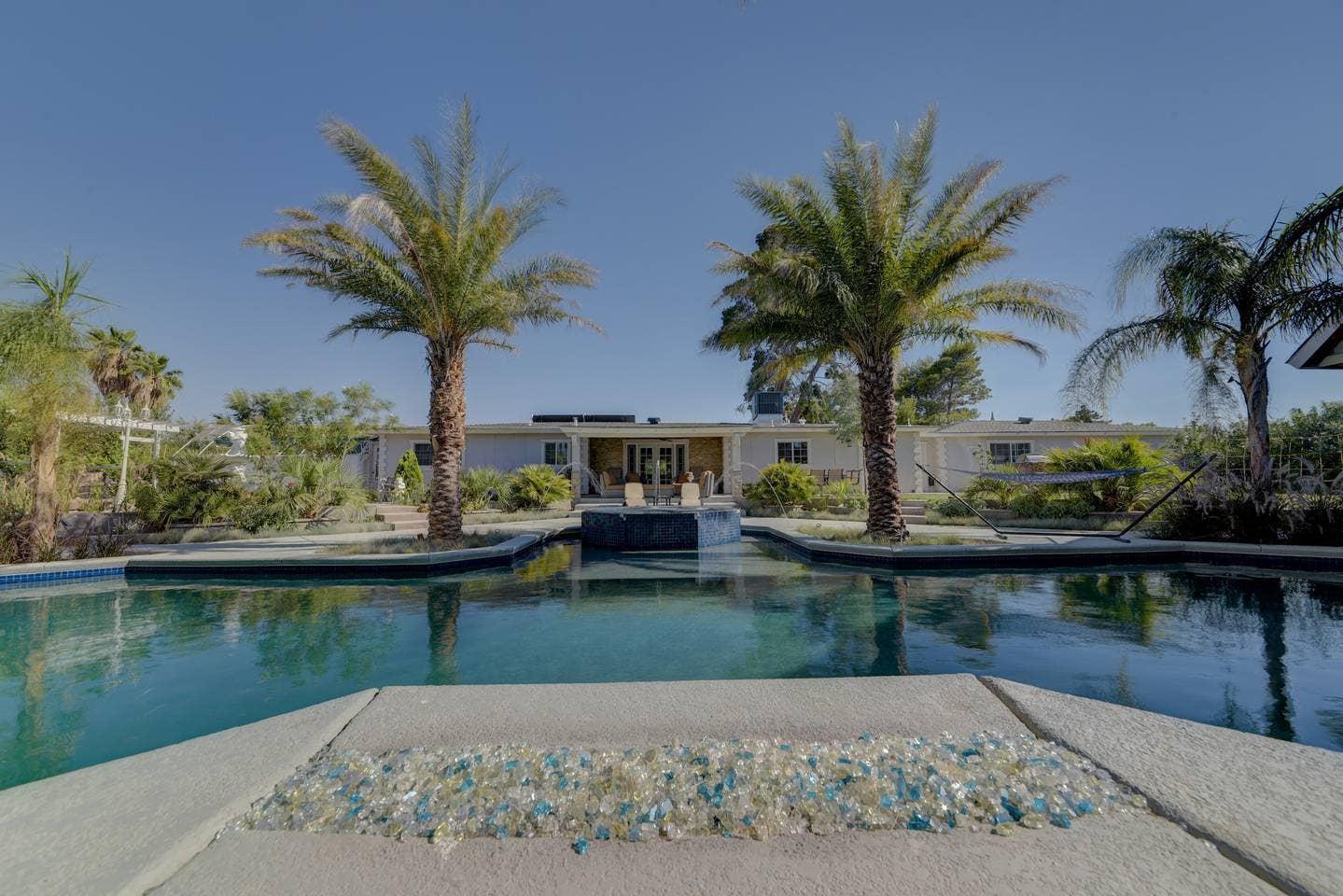 Mansion Airbnb Las Vegas Pool
