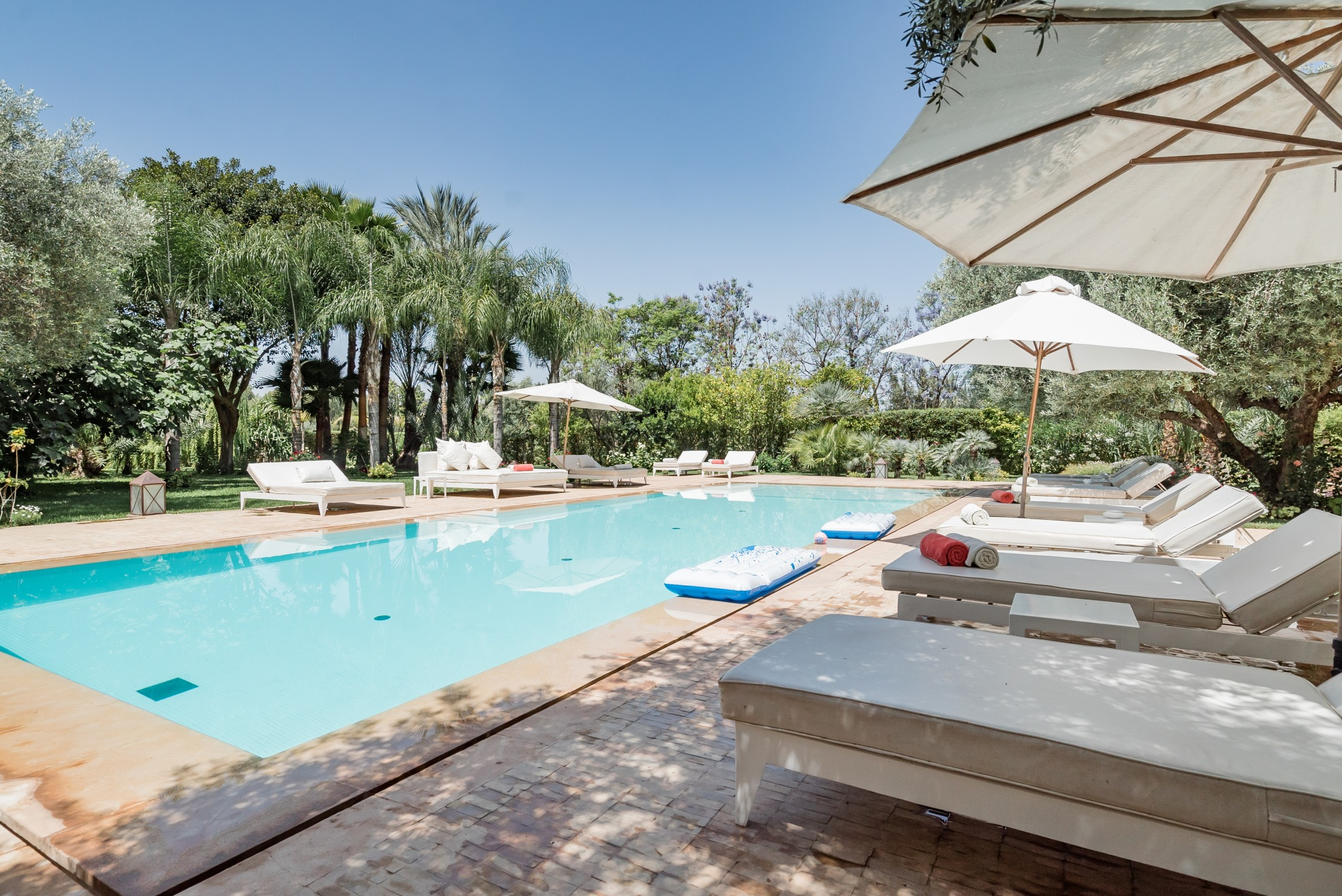 Morocco Luxury Airbnb Pool