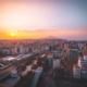 Oita City Sunset