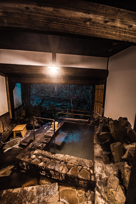 Oita, Hotel Sanso Tensui