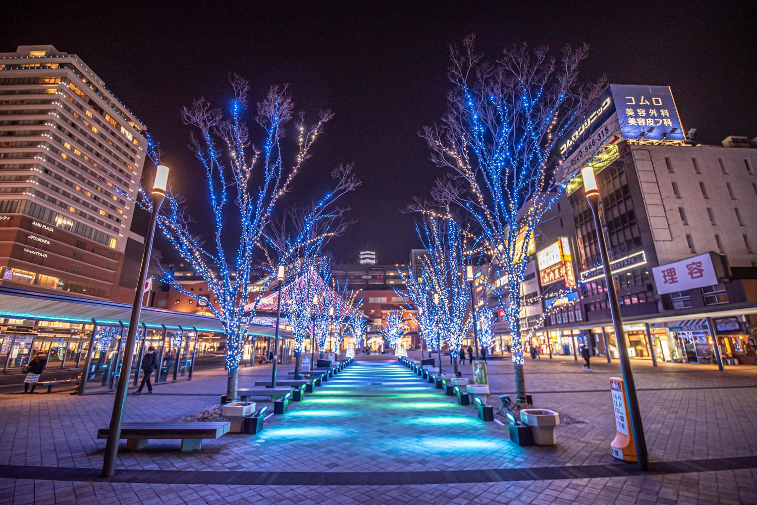 Oity City, Oita, Japan