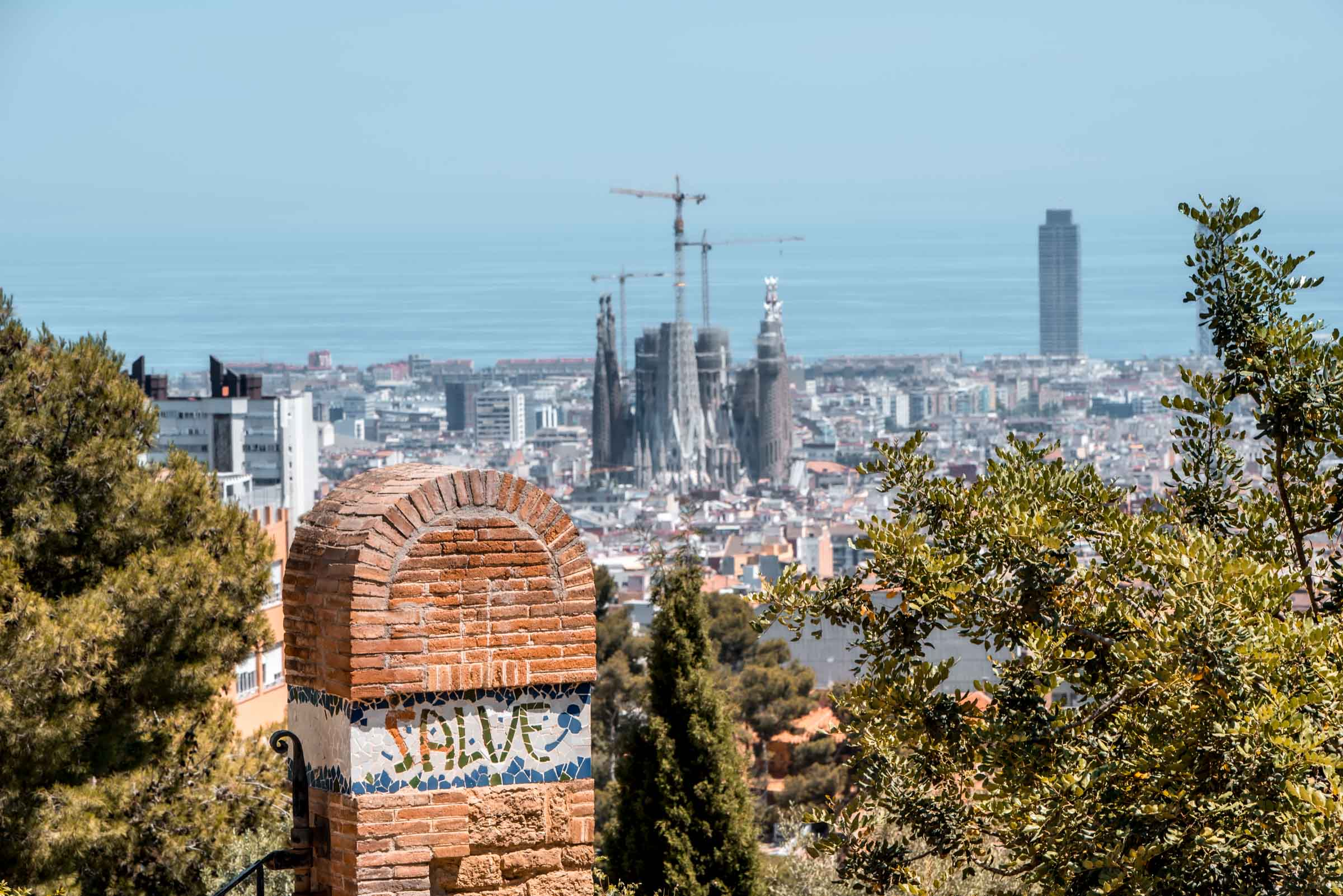 Parc Guell - 2 Days in Barcelona