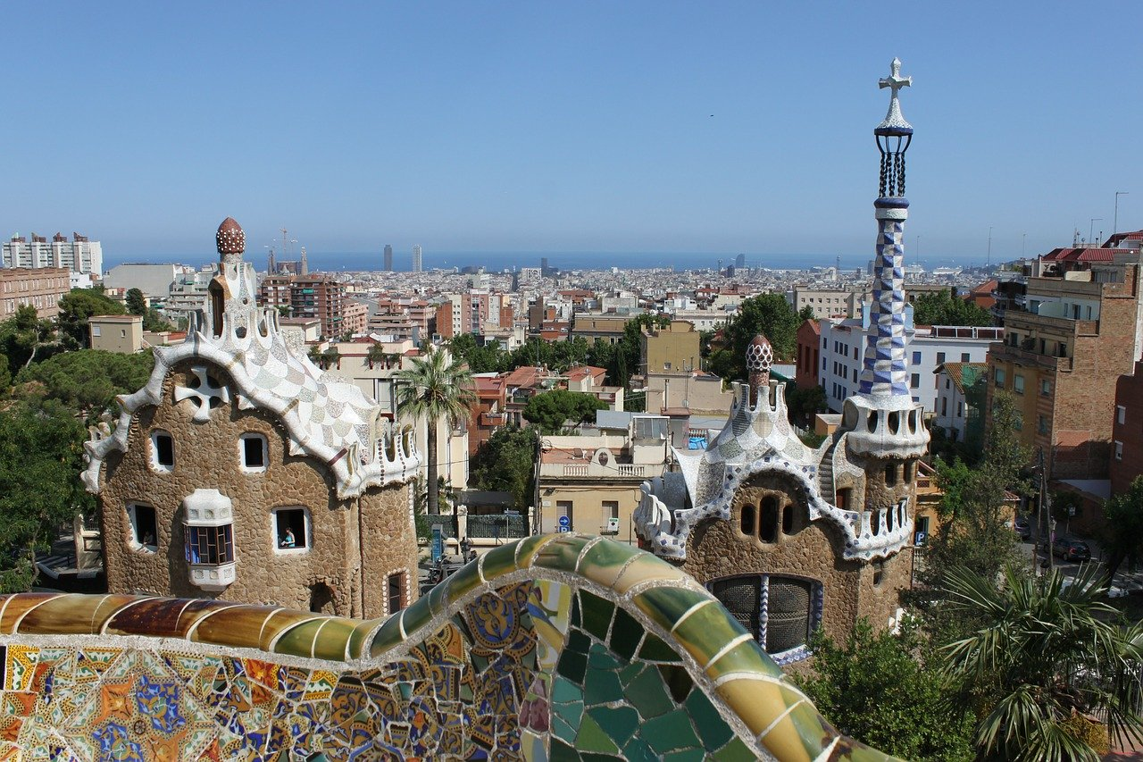 Parc Guell - Places to visit in Barcelona