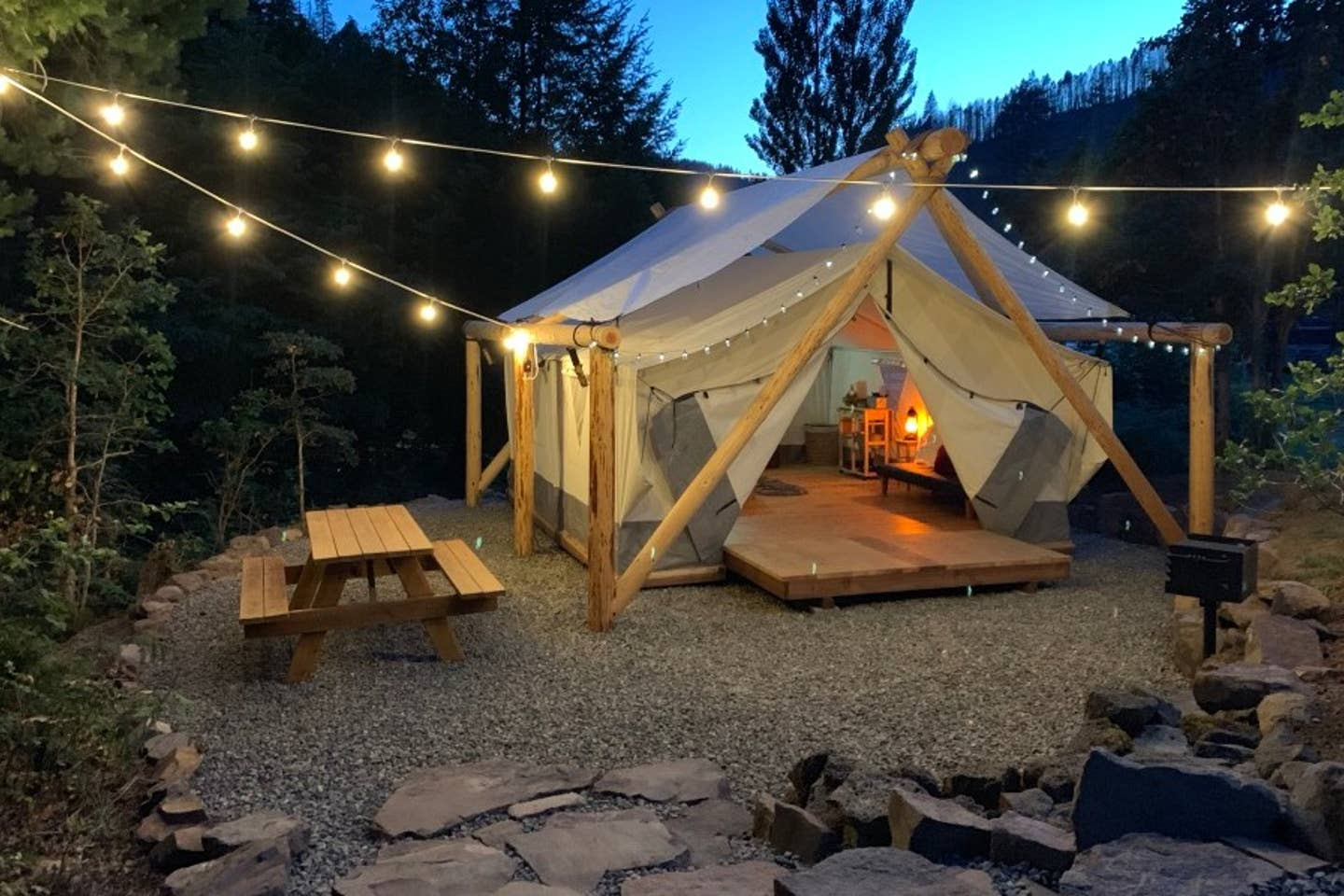 Unique Glamping in Oregon