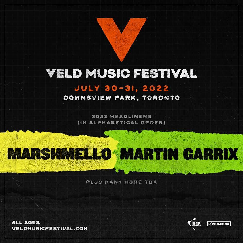 VELD Music Festival Canada 2022