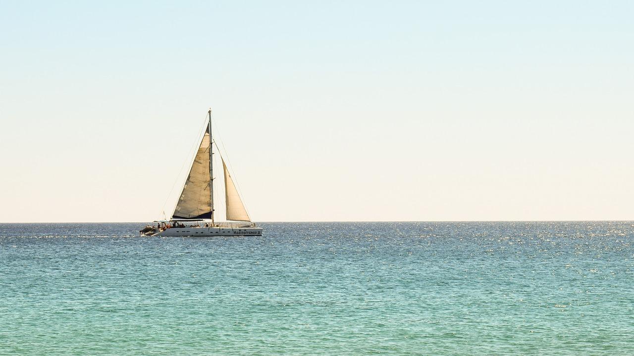 catamaran, barcelona, spain