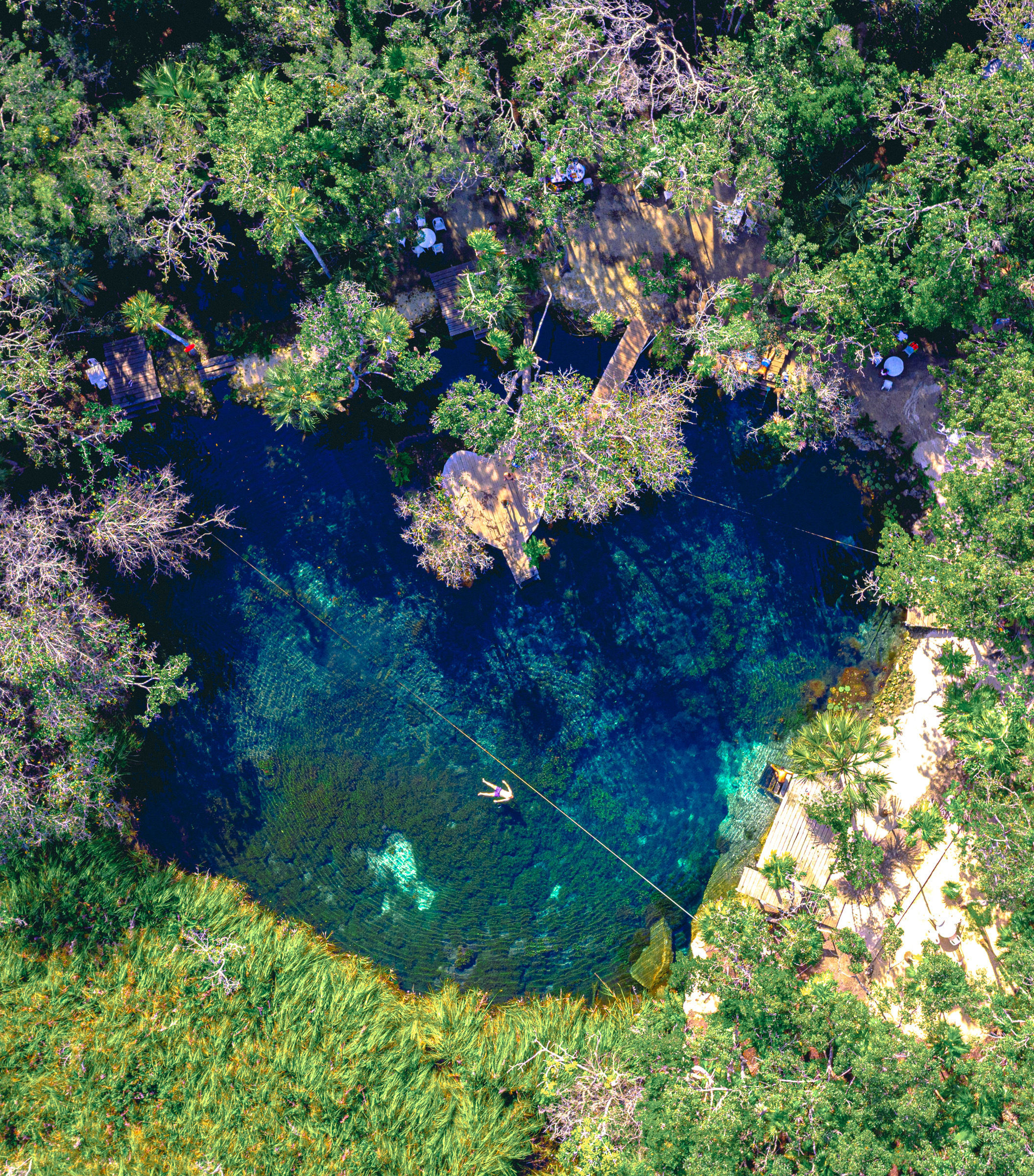 heart cenote - tulum