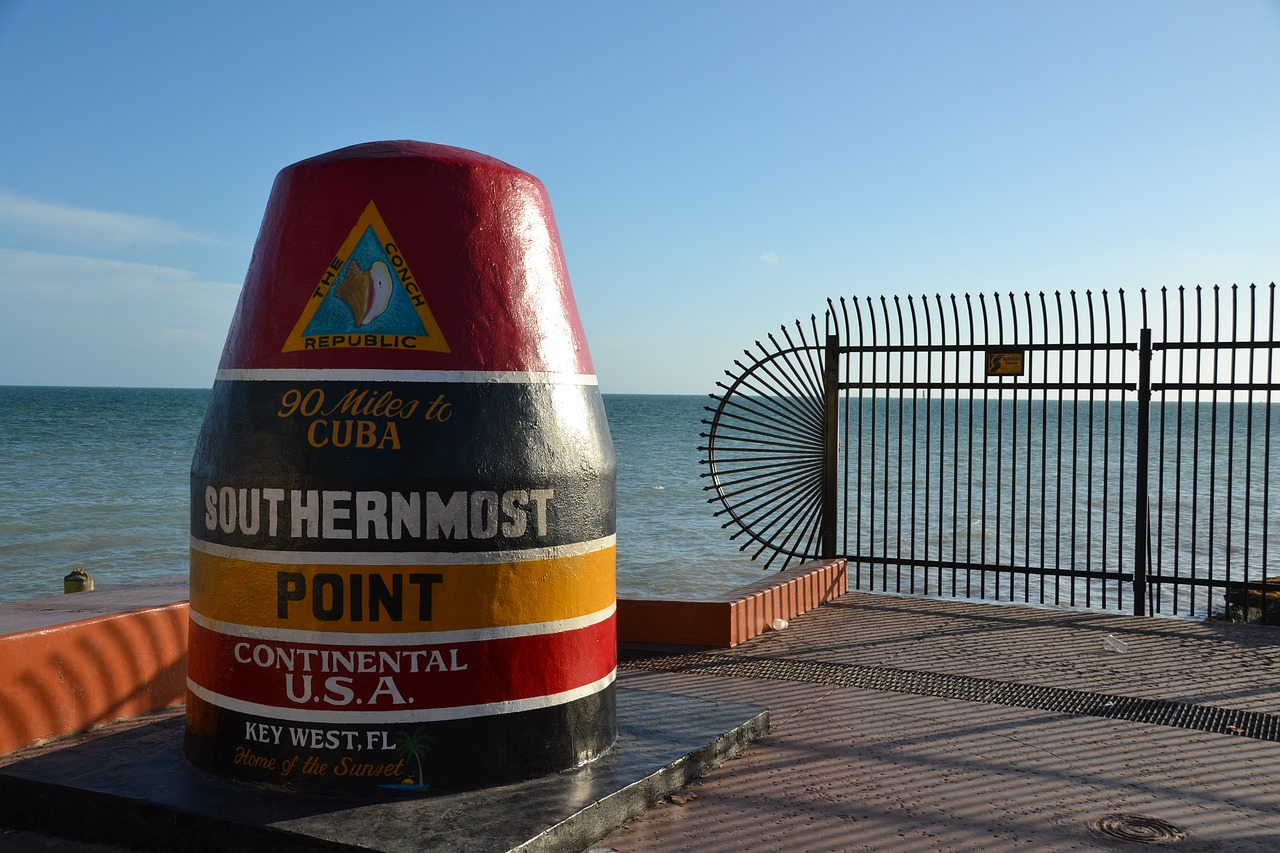 southermost point - key west, florida