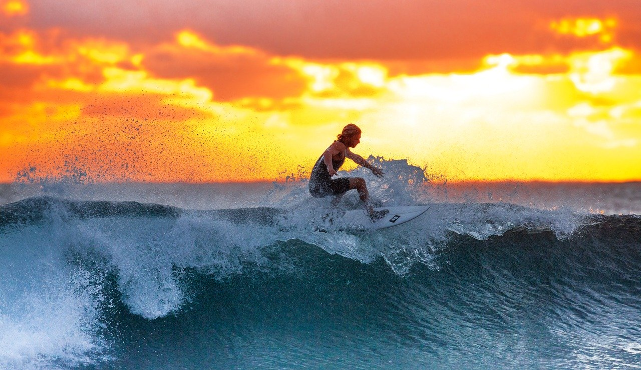 surfing sunset quotes