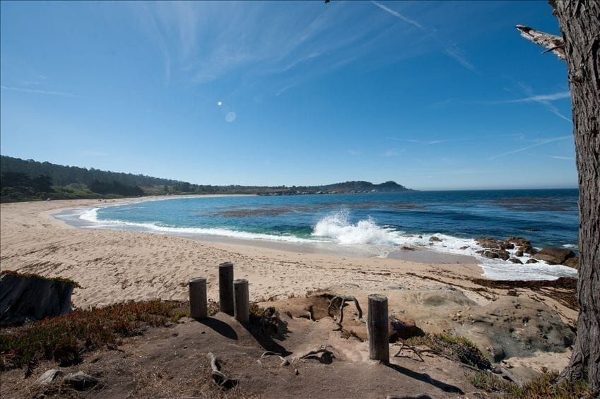Beach Glamping in Big Sur