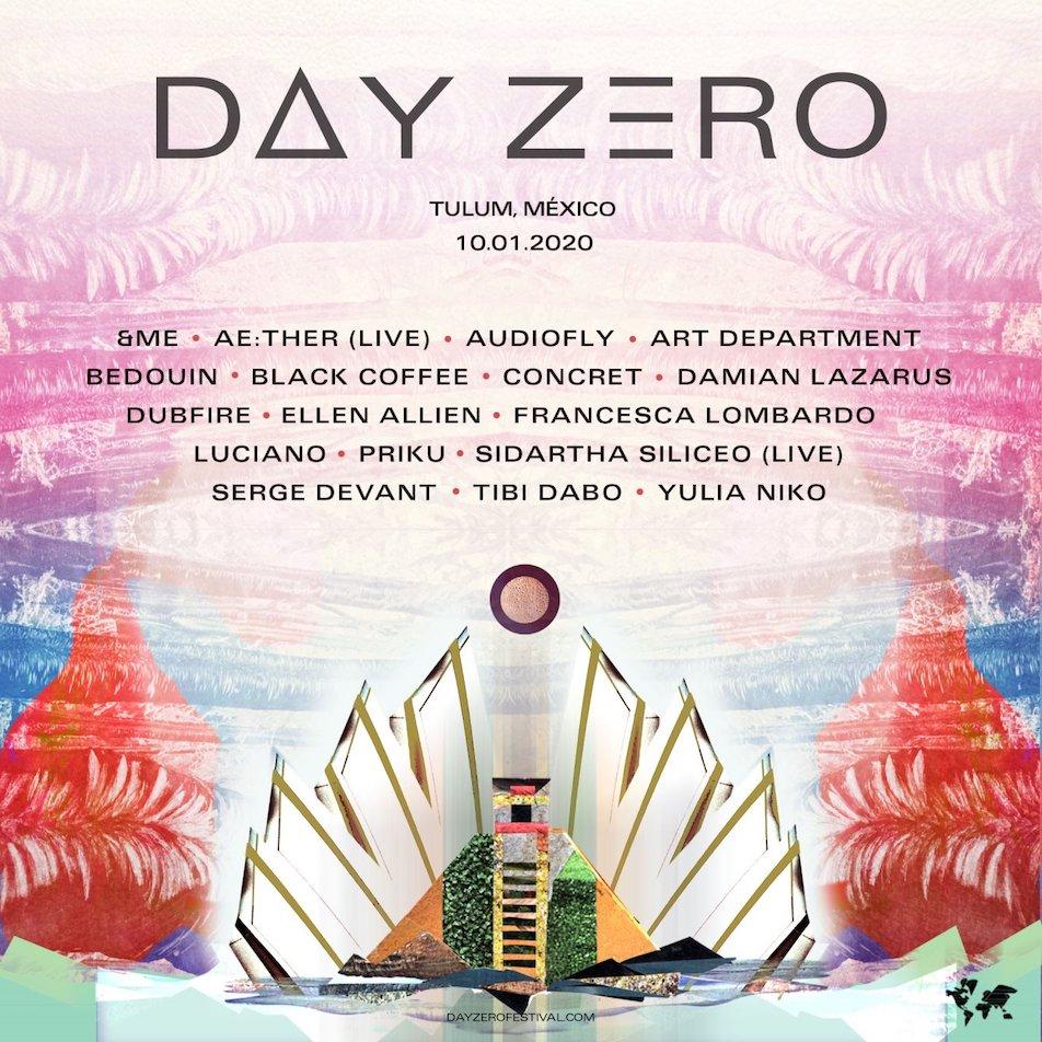 Day Zero Line Up