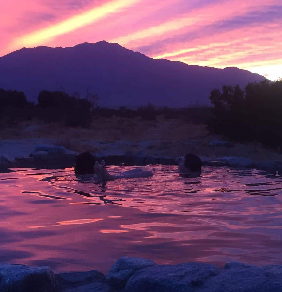 Hot Springs Sunset - Airbnb Palm Springs Experiences