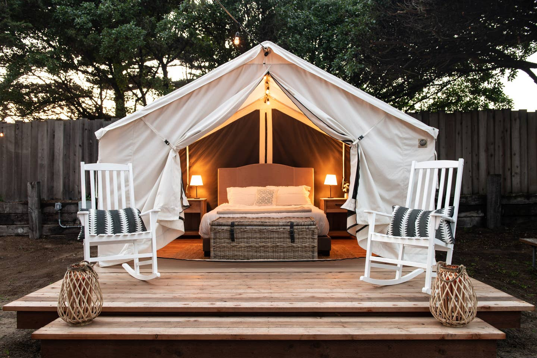 Luxury Glamping Big Sur