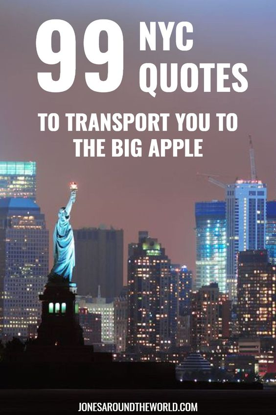 New York City Quotes Instagram Captions