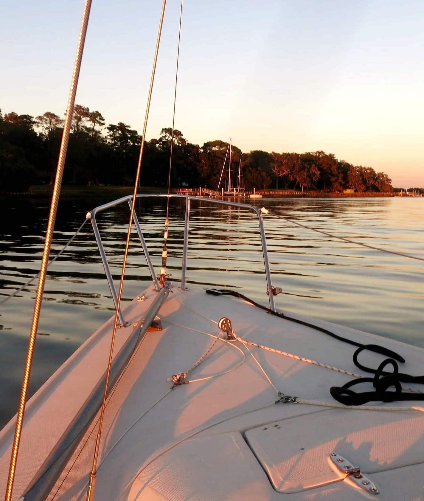 Sailing in Savannah GA