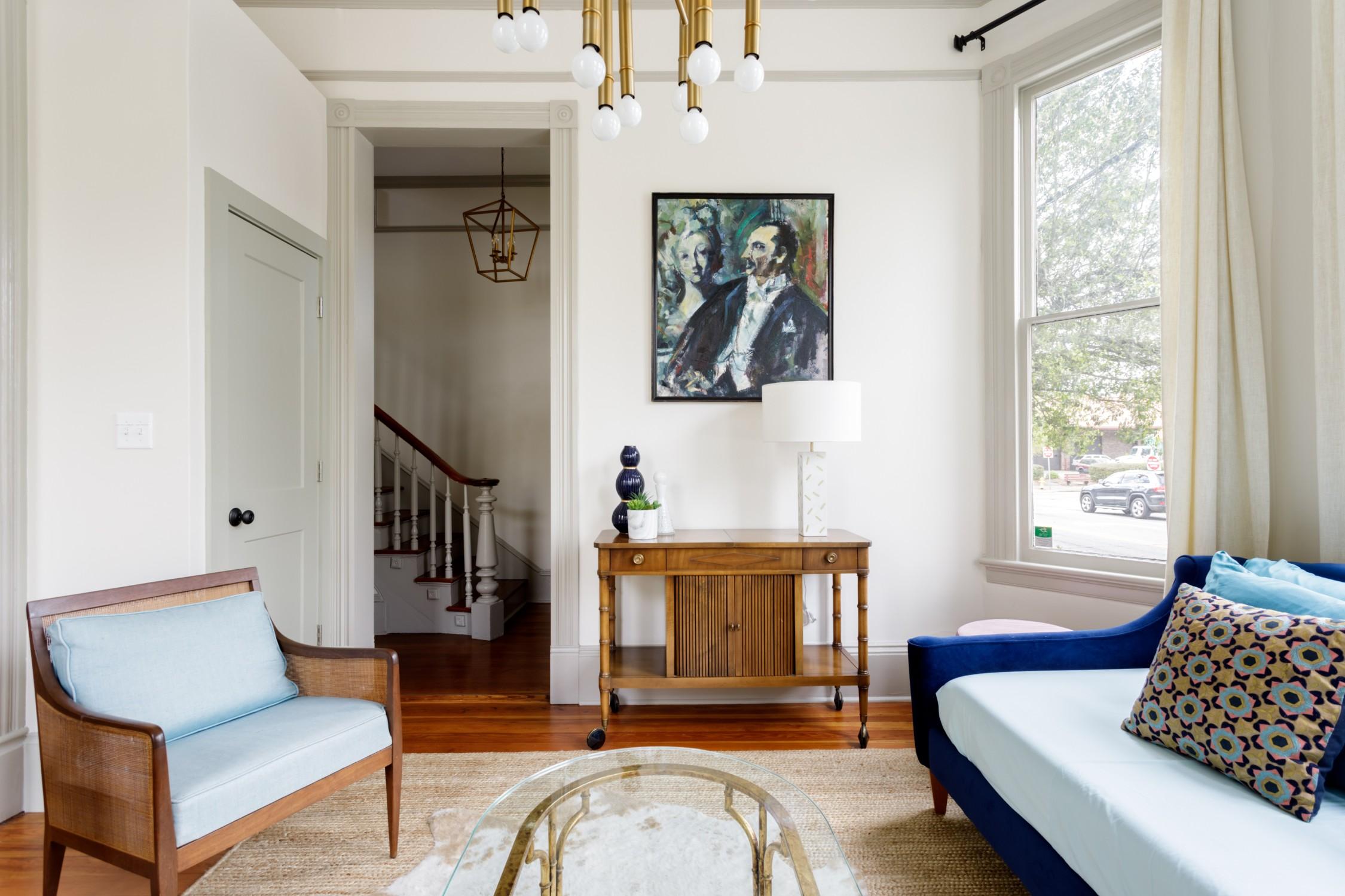 Savannah Airbnb Plus Living Room