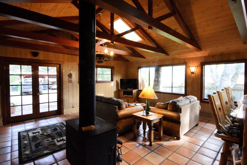 cozy rustic cabin carmel valley glamping