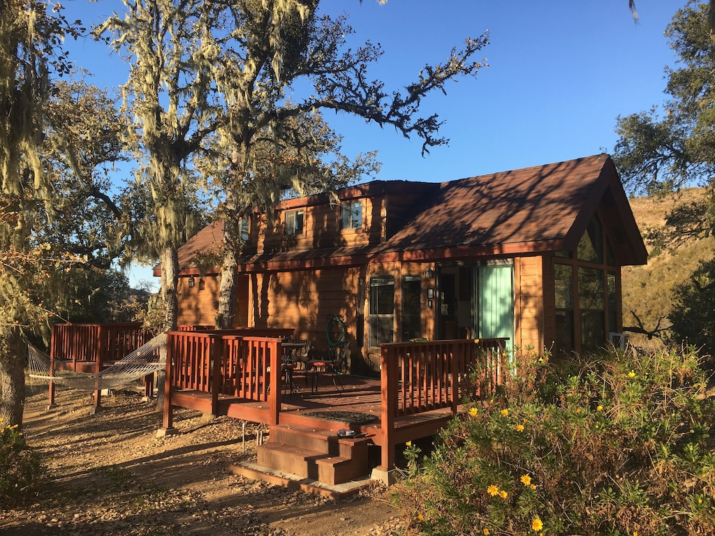 tiny house monterrey county glamping cabin