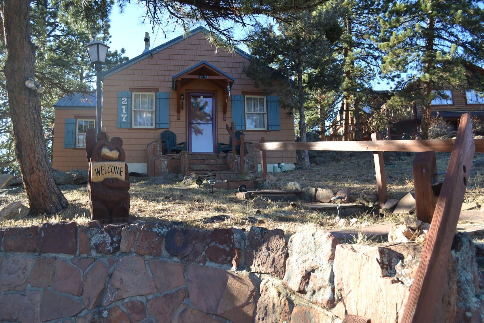 Cabin Vacation Rental Estes Park