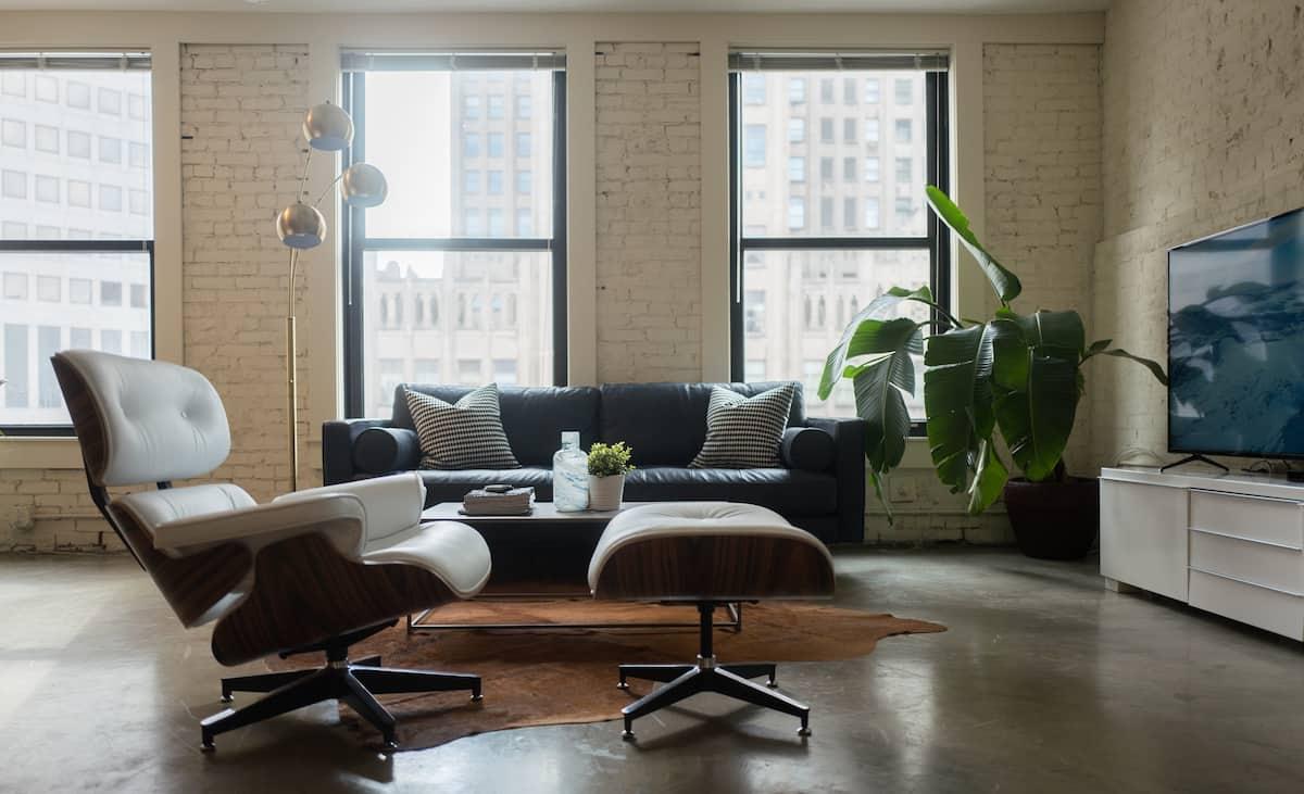 Designer Loft in Center of Downtown Airbnb St Louis