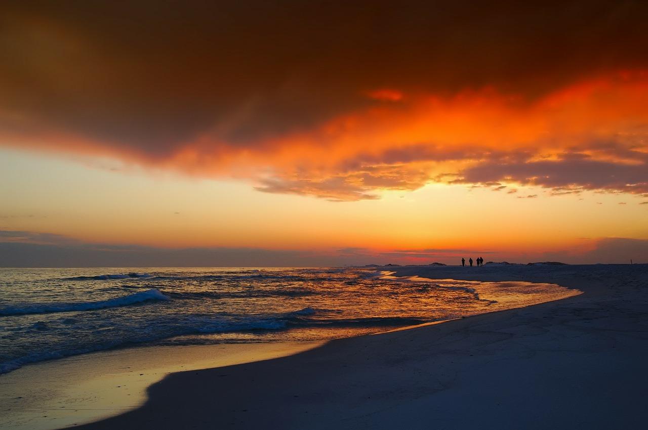 Destin FL Airbnb Beach Sunset