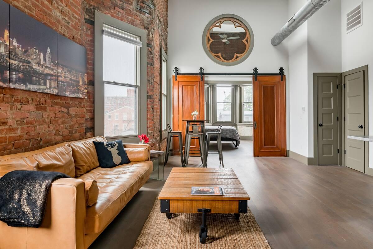 Loft Airbnb Cincinnati 2020
