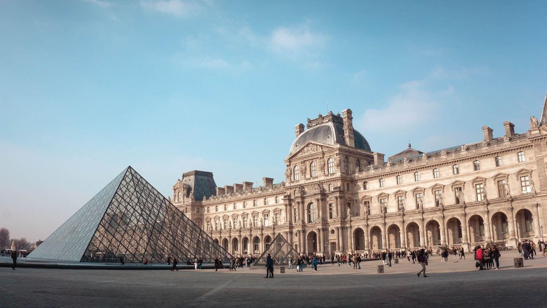 Louvre Paris Captions