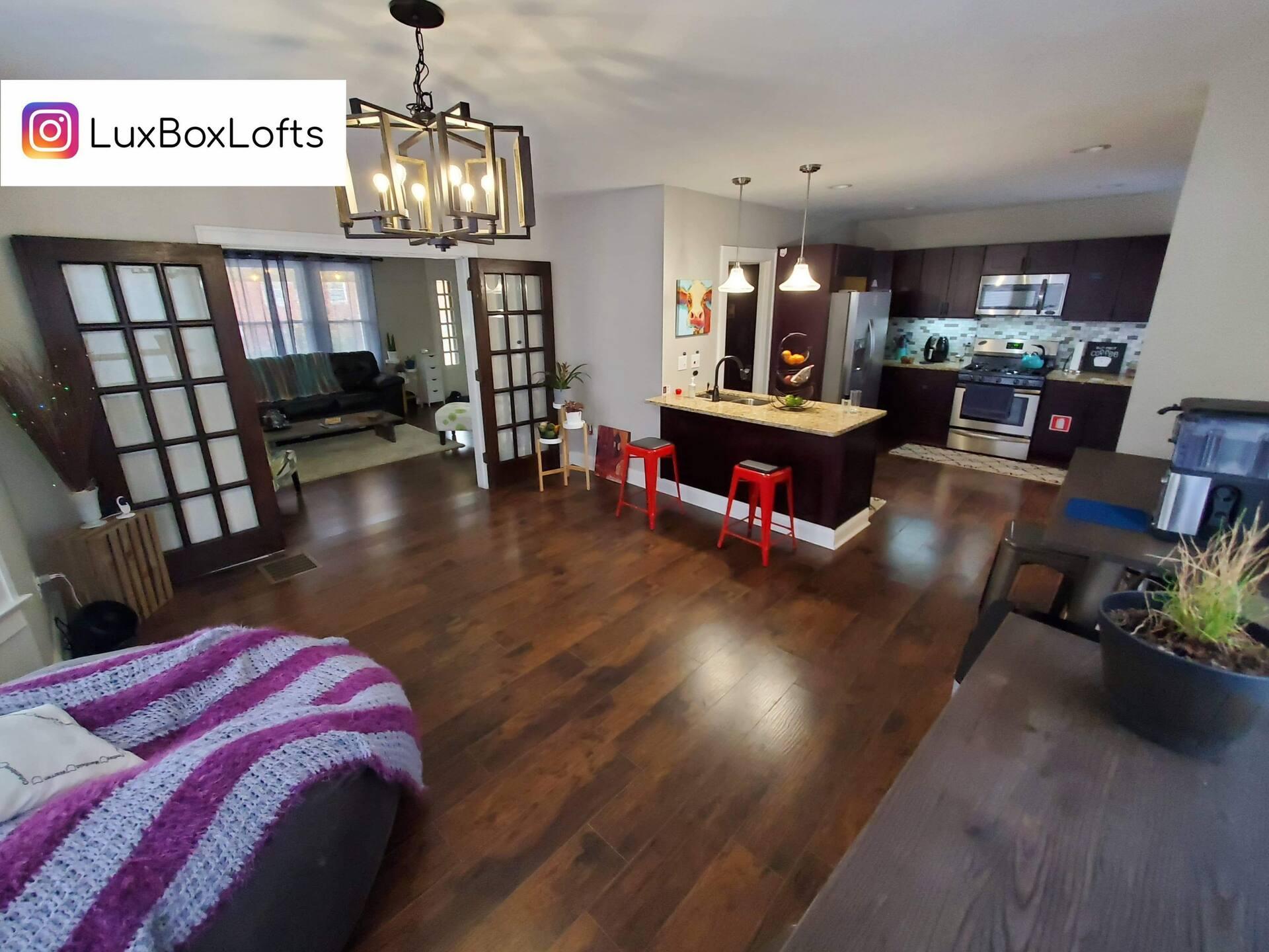 LuxBoxLofts Airbnb Columbus Ohio