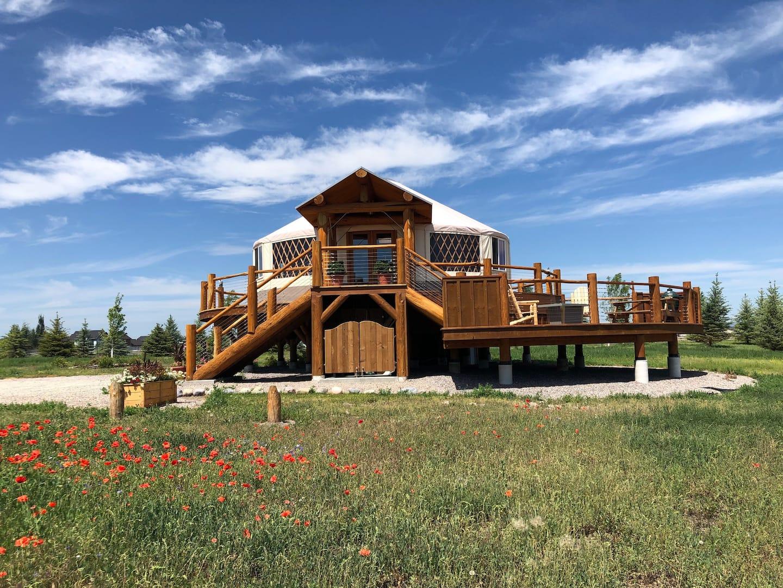 Yurt Rentals in Montana