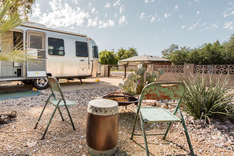 60's Style Airstream Unique Airbnb Phoenix