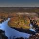 Autumn Scenic Overlook in Branson Missouri at Sunrise