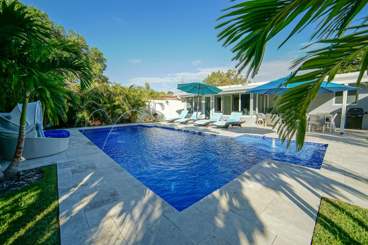 Airbnb Fort Lauderdale House with Pool