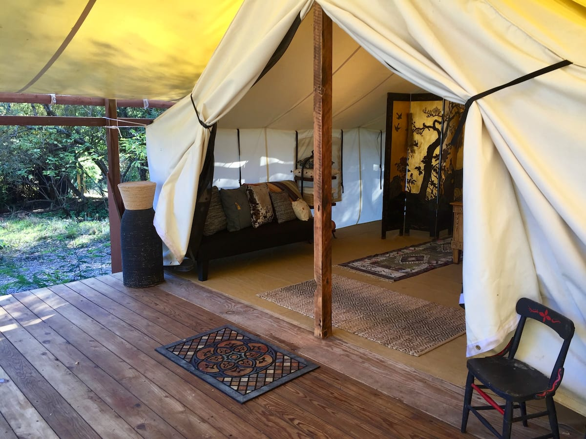 Best Glamping Bay Area, Northern California