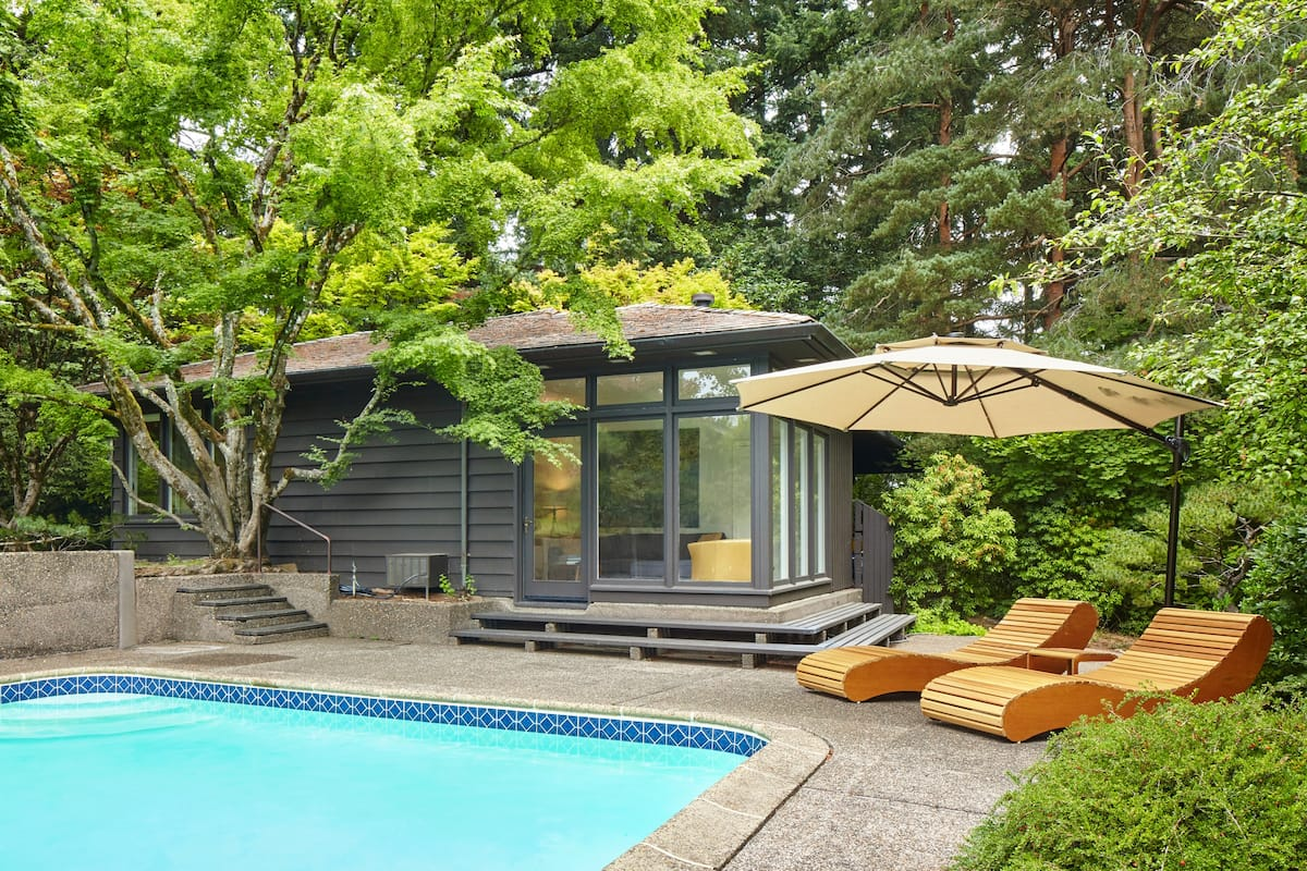 Best Portland Airbnb with pool