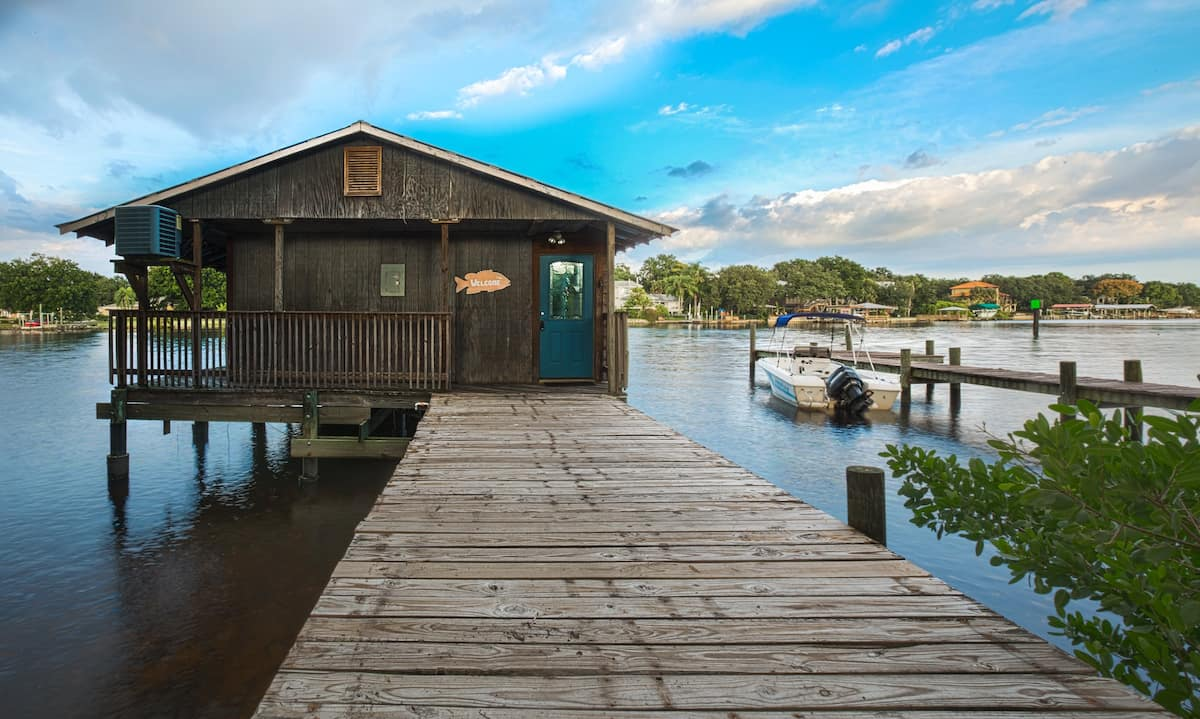 Boathouse Airbnb Tampa Florida