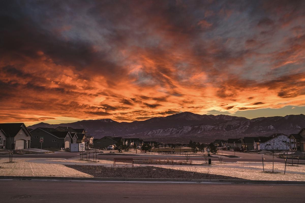 Colorado-Springs-Sunset