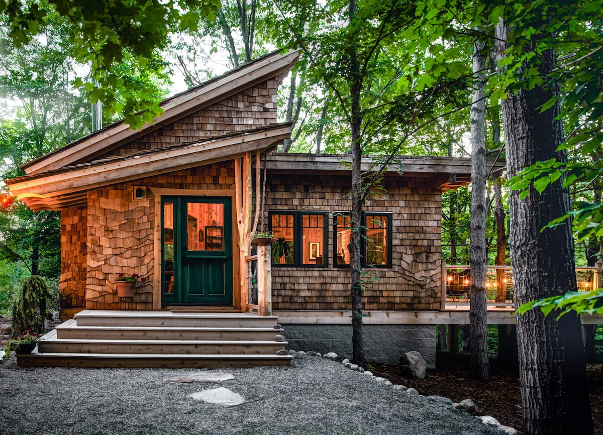 Dreamy Secluded Luxury in Traverse City Michigan
