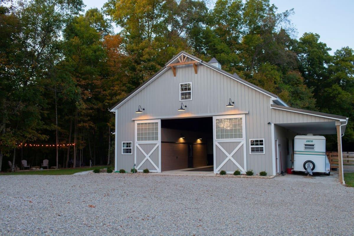 Glamping Ohio 2021 Airbnb Barn